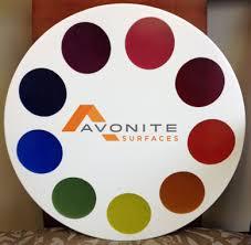 Avonite Chromatix Color Wheel Avonite Surfaces From