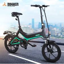 €478 with coupon for <b>Dohiker 16 Inch Electric</b> Bike Removable 7.5 ...