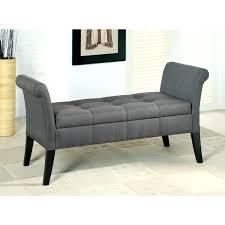 upholstered bench with arms and storage diy upholstered bench seat