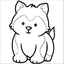 Small Picture Husky Puppy Coloring Good Husky Coloring Pages Coloring Page and