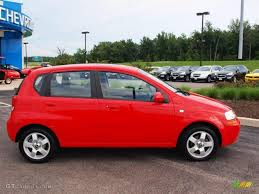 All Chevy chevy aveo 2006 : 2006 Victory Red Chevrolet Aveo LT Hatchback #57874008 | GTCarLot ...