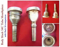Rudy Muck Trumpet Mouthpiece Chart Tubenet View Topic Rudy Muck Tuba Mouthpiece Vintage