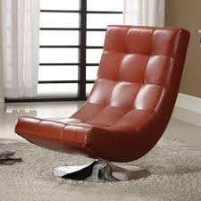 Lounge Chair Bedroom Chaise Lounge Chairs Redleatherloungechairrugpadtufted
