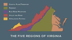 Piedmont My Chart Org The Regions Of Virginia Virginia Museum Of History Culture