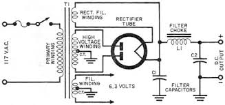 how to make power transformer substitutions, april 1959 popular Power Line Transformer Diagram schematic wiring diagram of a typical power supply rf cafe power transformer single line diagram
