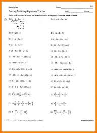 multistep equations worksheet algebra 1 multi step equations worksheets 3 jpg