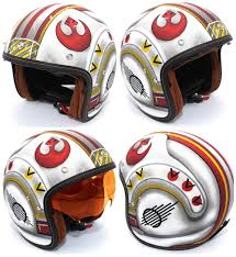 star wars motorcycle helmets