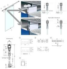 sliding glass door frame schematic spec sheet removal