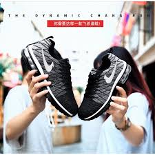 Ready Stock Men Women Running Sport Nike Shoes <b>Fly Knit Big</b> ...