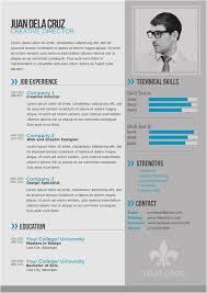 Free Modern Resume Templates Free Modern And Simple Resume Cv Psd