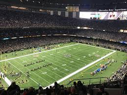 Saints Superdome Virtual Seating Chart Superdome Section 143 New Orleans Saints Rateyourseats Com