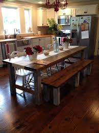 Shara At Chasing A Dream Shares Her Farmhouse Kitchen Table For A