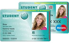 And Id Isic Student Regiojet Card