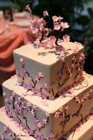 Cherry Blossom Wedding Cake Topper