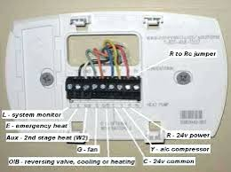 honeywell thermostat heat stunning thermostat wire color code