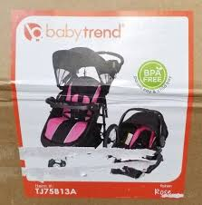Baby Trend And 174 Cityscape Jogger Travel System Infant Car Seat Compatible