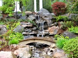 diy waterfall pond ideas water gardens ideas