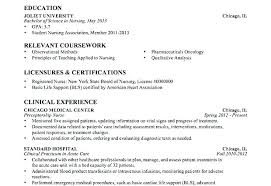 Nursing Resumes Examples New Resume Samples For Nursing Students Entry Level Nurse Resume