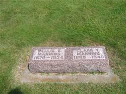 Nellie Estella Ward Manning (1870-1934) - Find A Grave Memorial