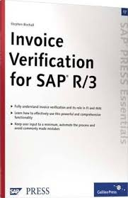 Book Invoice Delectable Invoice Verification For SAP R48 48 Pages 48st Edition Buy Invoice