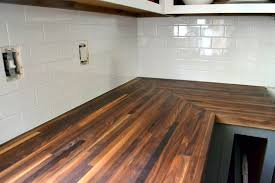 it cost me well more than the ikea butcher block alternative i was considering about a 400 difference in total cost but after that first coat of oil and