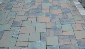 average paver patio cost concrete patio cost per square foot choosing brick vs for a driveway or path are concrete s patio cost average cost of diy paver