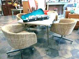 rolling dining chairs. Antique Dining Room Chairs With Casters Design Idea And Decors Rolling Chair Retro Sets I