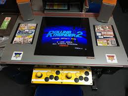 Cocktail Arcade Cabinet Arcade Road Trip Natsuge Museum Akihabara Tokyo Gamingmoe