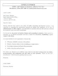 Cover Letter Accounting Clerk Sample Of Cover Letter For Accounting Job Sample Accounting Sample