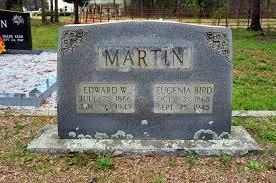 Eugenia Bird Martin (1865-1945) - Find A Grave Memorial