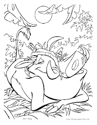 Small Picture Disney Coloring Pages Lion King Coloring Pages