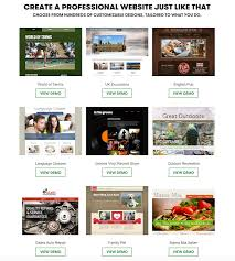 Godaddy Website Templates Delectable Website Builder Create Your Own Website In Minutes GoDaddy UK
