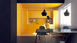 Kitchen Black And Yellow Kitchen Yellow Color Kitchen Design Black