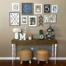 Sofa Table Decorations 27 Welcoming Rustic Entryway Decorating Ideas That Every Guest