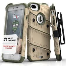 iphone 7 plus cases. zizo bolt case for iphone 7 plus, military grade drop tested with glass screen protector iphone plus cases