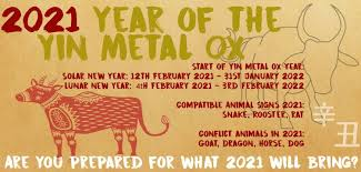 According to the chinese horoscope 2021, the ox is a reliable, dependable, and resilient animal that can be relied upon all the time. Chinese New Year Feng Shui 2021 Everything You Need To Know And So Much More