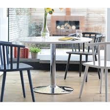 palermo gloss 2 3 seater dining table medium white