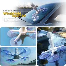 practical car window glass recovery remove resin windscreen windshield repair diy tool kit set
