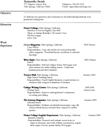 copy of professional resume