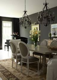 grey even goes in the dining room