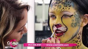 cosmix is training makeup artists for fashion tv theater and special fx