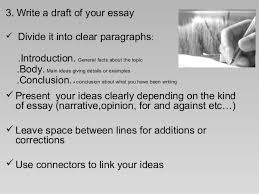 how to write an essay  4 3 write