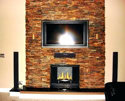 stone fireplace installation cost image of stacked veneer around in