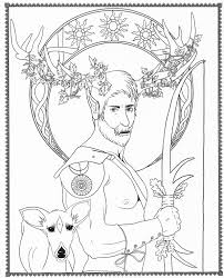 Coloring Pages Pagan Celtic Goddesses Colouring