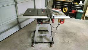 Used Craftsman Professional Table Saw For Sale