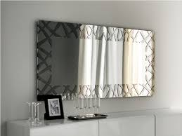 modern decorative wall mirrors  unique decoration and modern