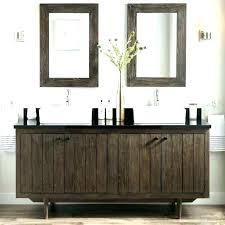 bathroom cabinet design ideas. Extraordinary Grey Vanity Bathroom Ideas Dark Gray And Brown Teak Double Vessel . Cabinet Design