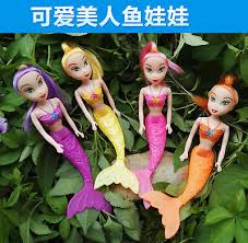 4pcs/set - Little Mermaid фигурки девочка <b>игровой набор</b> кукла ...