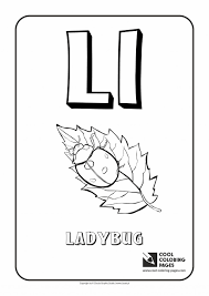 Colouring Pages Letter L Coloring Alphabet Cool Coloring Pages