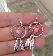 Dream Catcher Earing Dream Catcher Earrings Country Wind Online Store Powered by 17